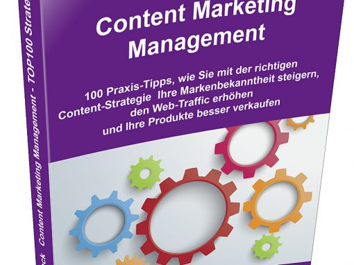 "Neues Buch ""Content Marketing Management"" von Frank Mühlenbeck"